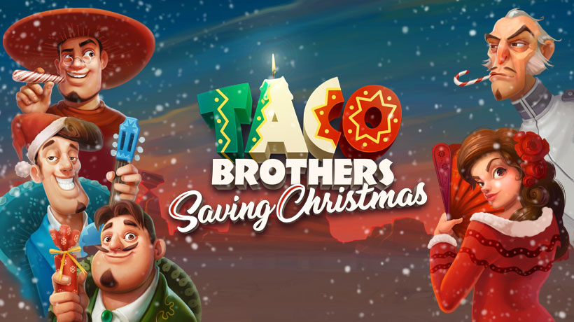 Taco Brothers Saving Christmas Slot Thor Slots