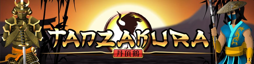 Tanzakura video slot game Logo