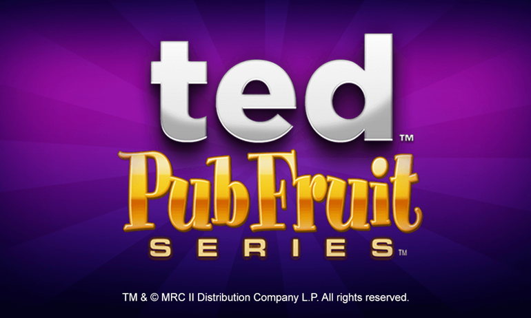 Ted Pub Fruits Series Slot Banner