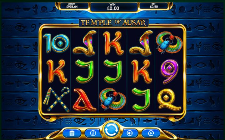 Temple of Ausar Slot Games