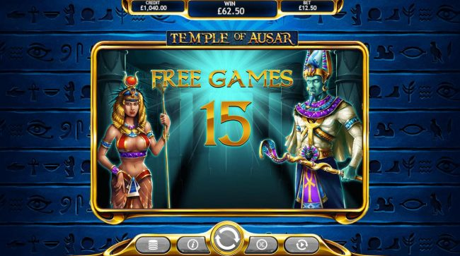 Temple of Ausar Jackpot Free Spins Slots