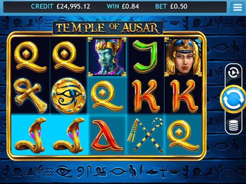 Temple of Ausar Jackpot Slot Games