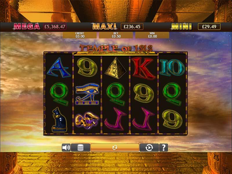 Temple of Iris Jackpot Slot Game