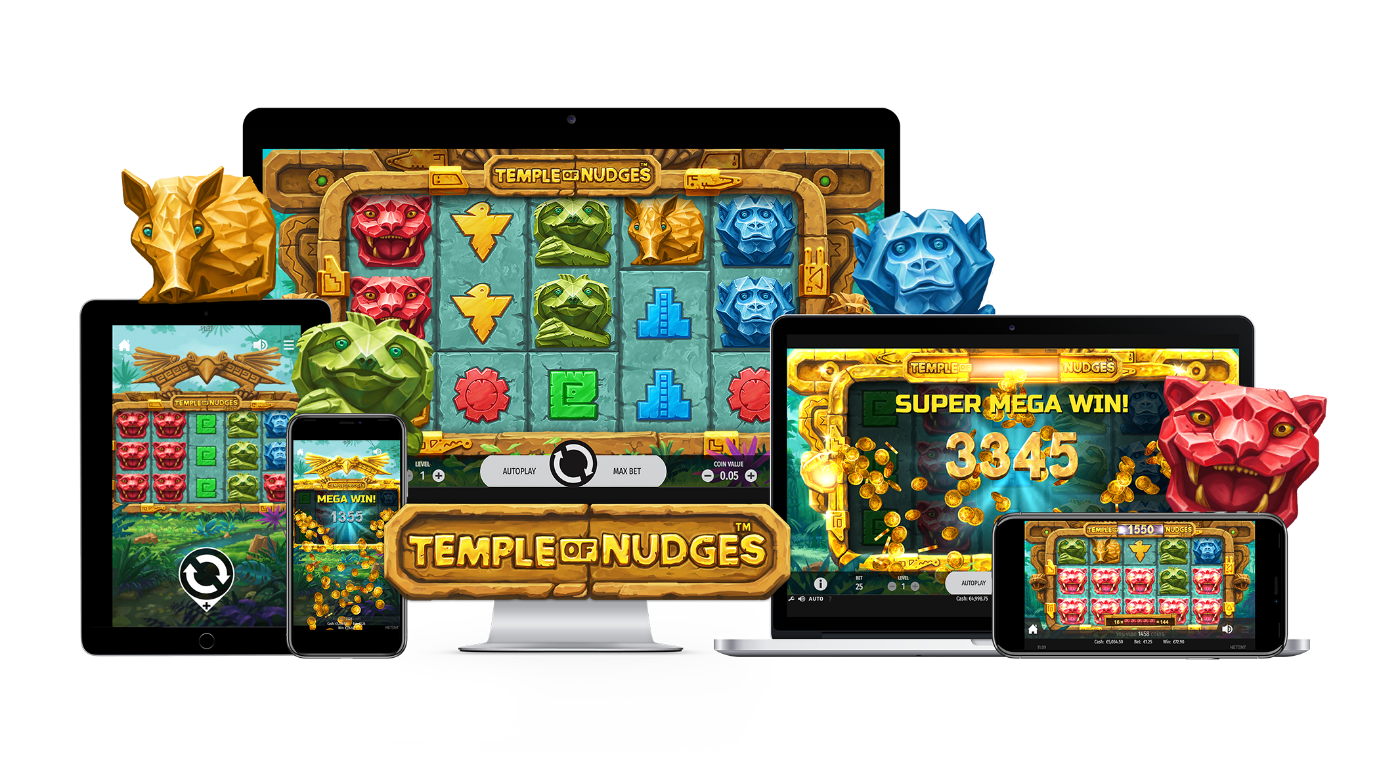 Temple of Nudges Mobile Slots