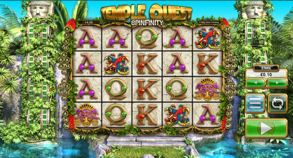 Temple Quest Spinfinity Slot Game