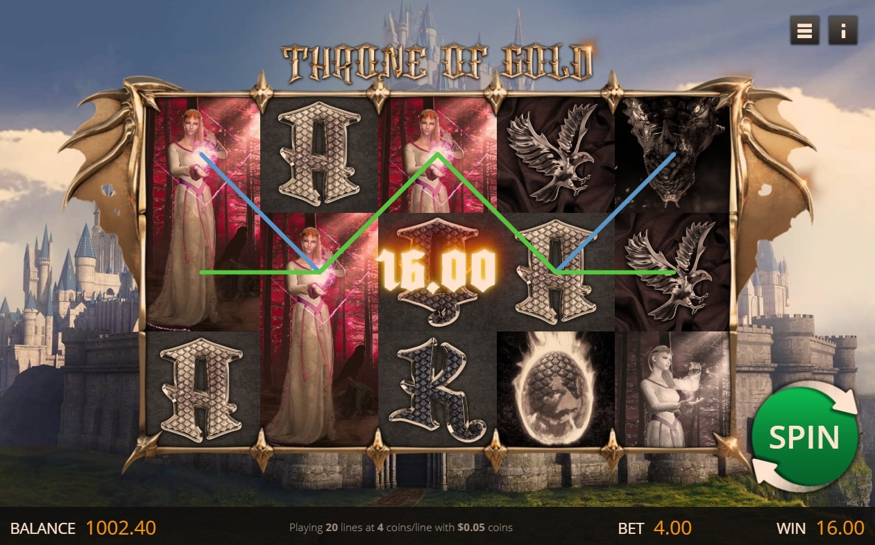 Throne of Gold Slots Online