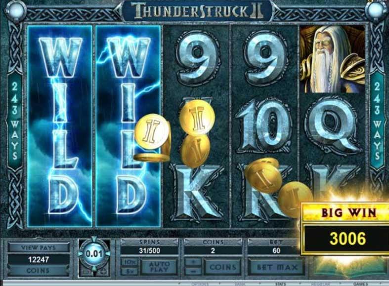 Thunderstruck II Gameplay