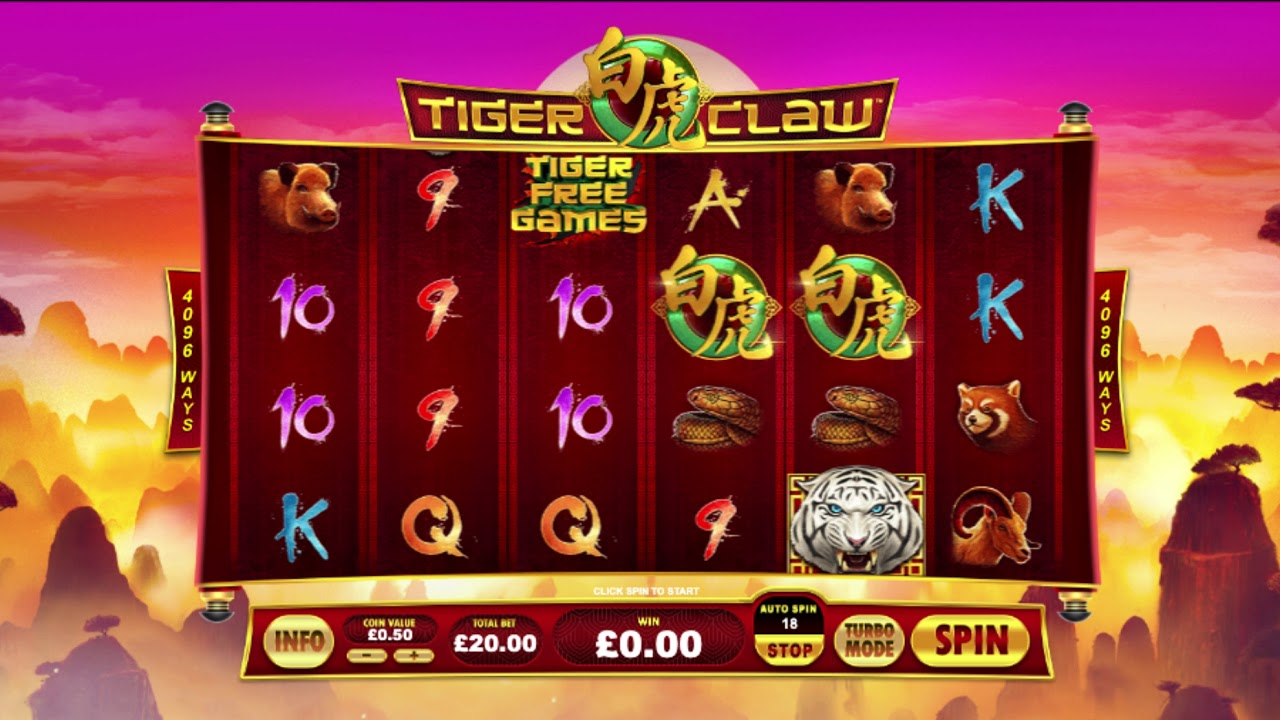 Tiger's Claw Slot Gameplay