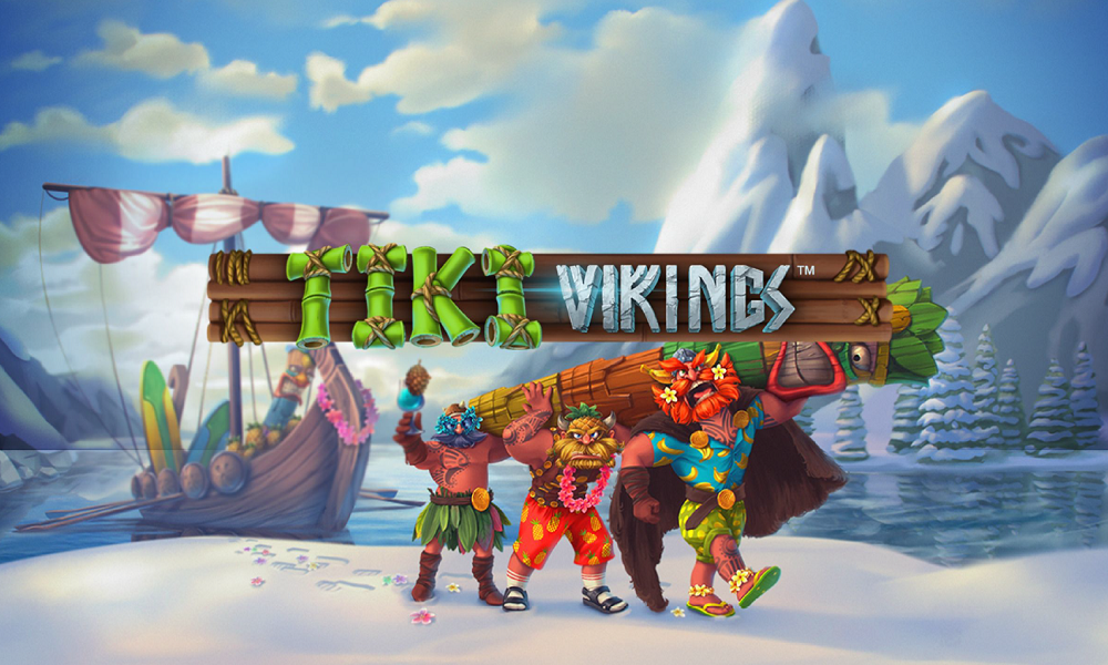 Tiki Vikings Free Slot Logo