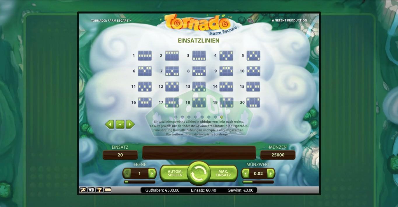 Tornado Farm Escape Slot Gameplay