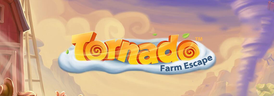Tornado Farm Escape Slot Banner