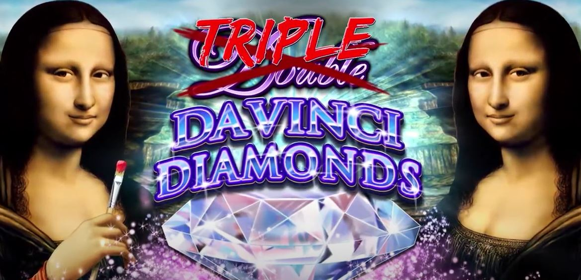Triple Double Da Vinci Diamonds Slot Header