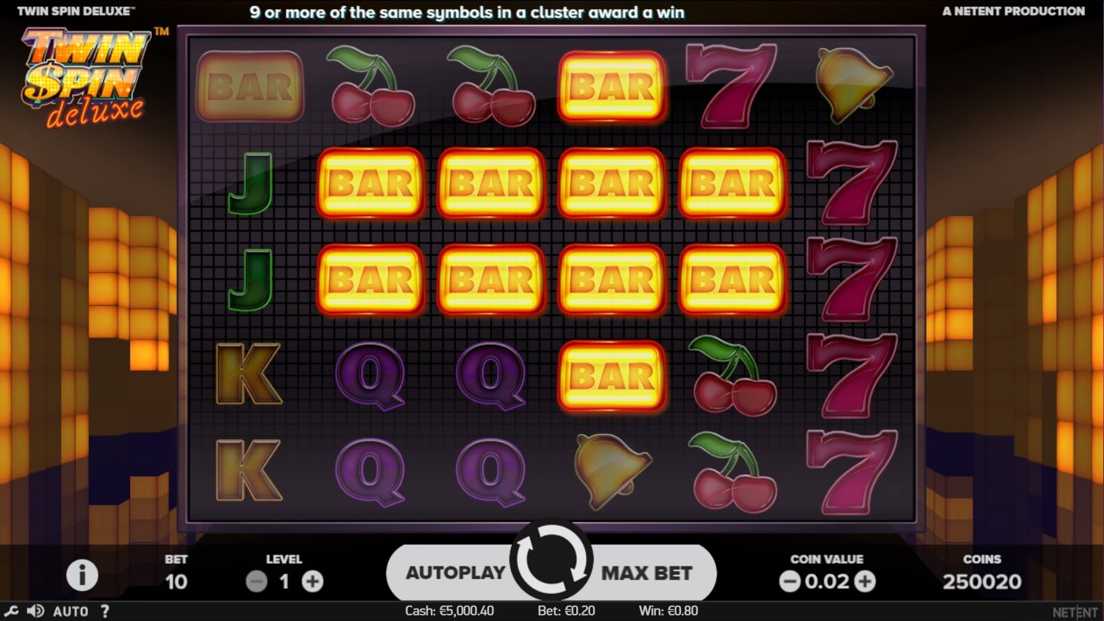 Twin Spin Deluxe Slots Online
