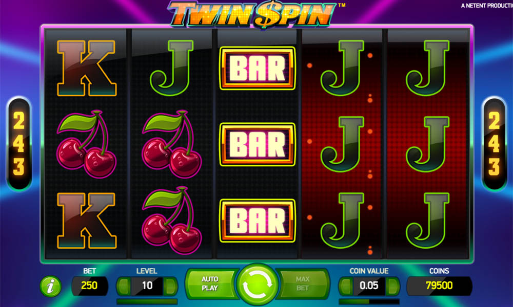 Twin Spins Slot Win