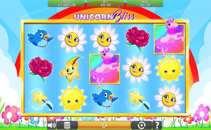 Unicorn Bliss Jackpot Free Slots