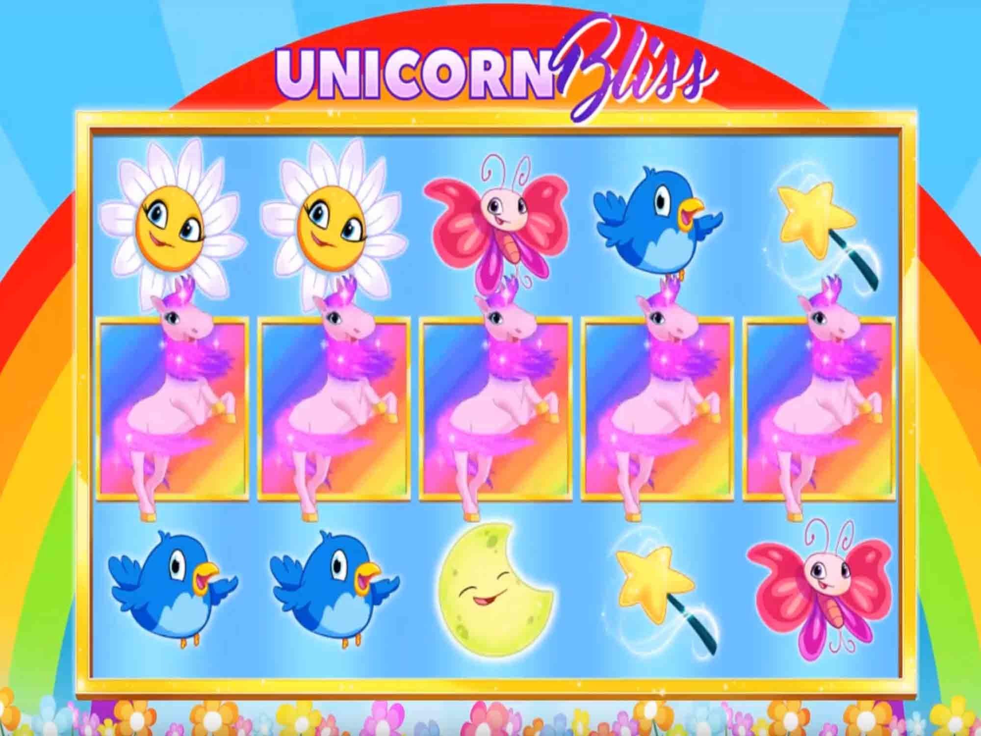 Unicorn Bliss Jackpot Slot Game