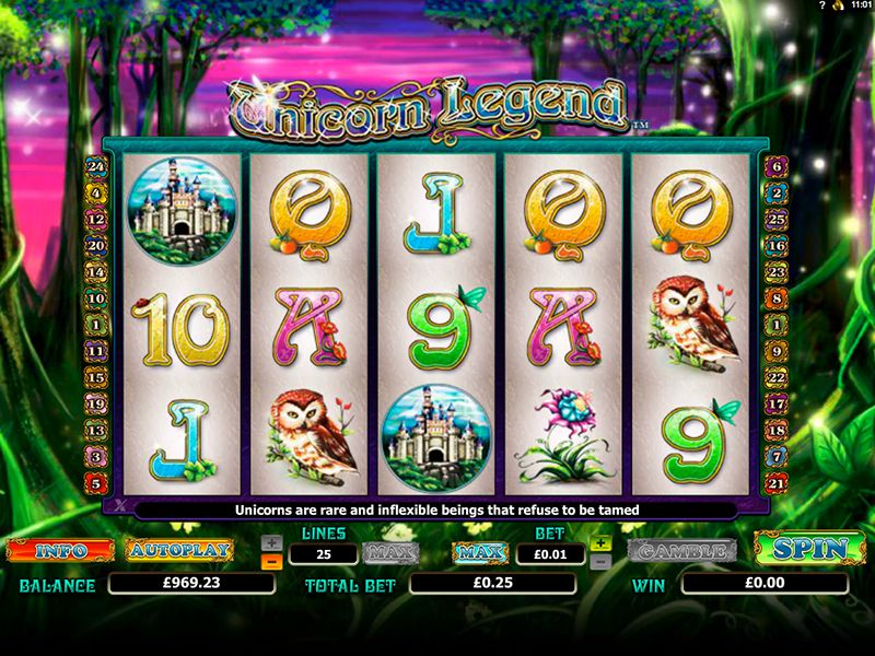 Unicorn Legend Slot Game