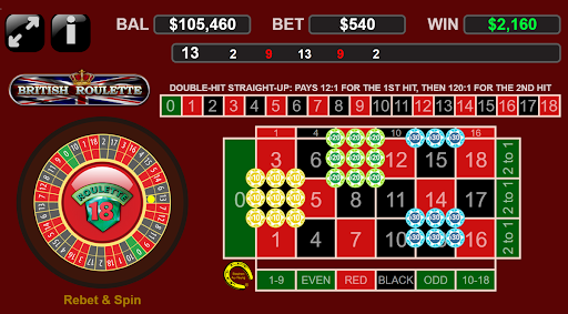 Roulette Layout Image