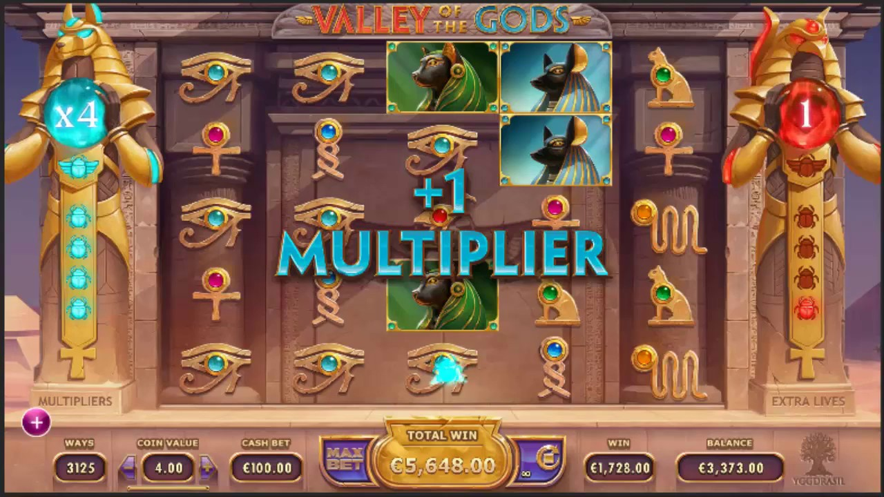 Valley of the Gods Slots Online