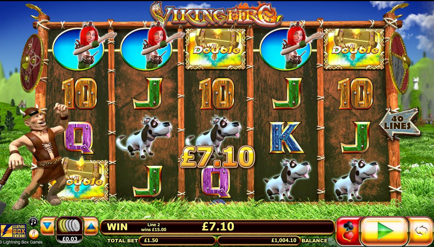 Viking Fire Slot Game