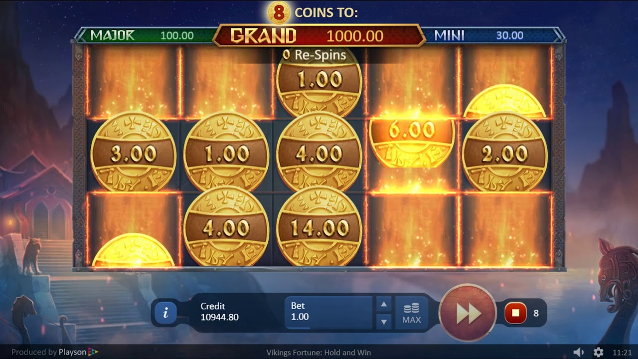 Vikings Fortune: Hold and Win Free Spin Slot