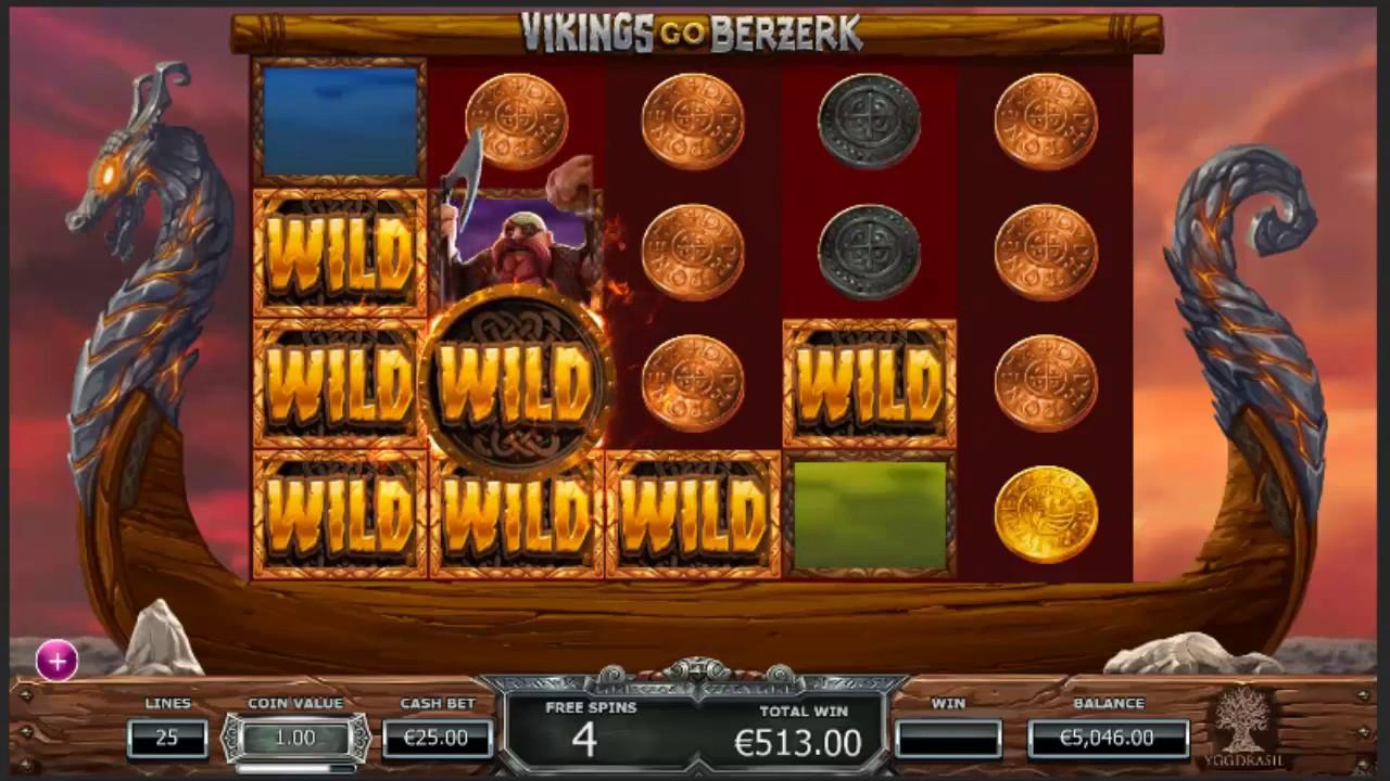 Vikings Go Berserk Slot Game