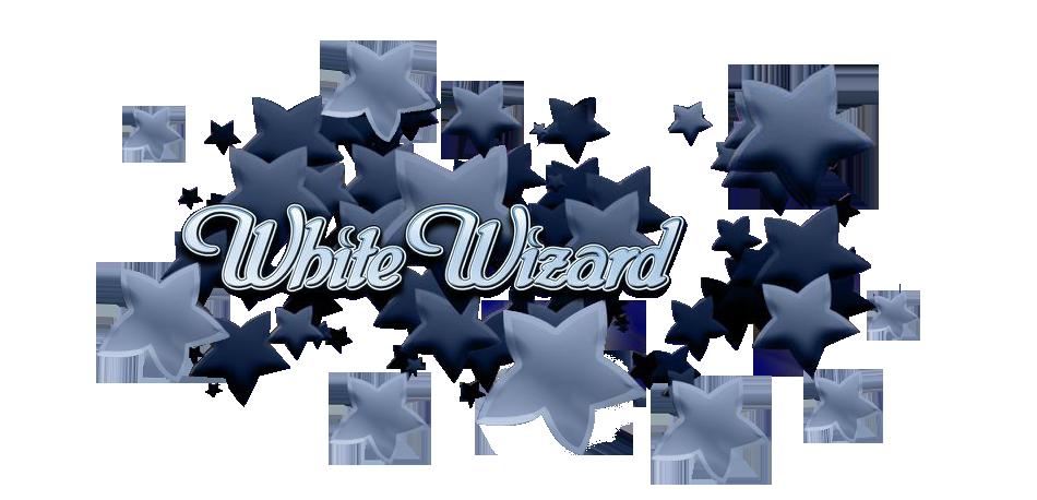 White Wizard Logo Thor Slots