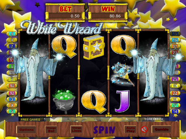 White Wizard Screenshot