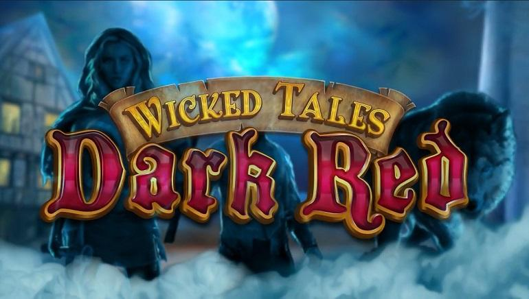 Wicked Tales Dark Red Slot Banner