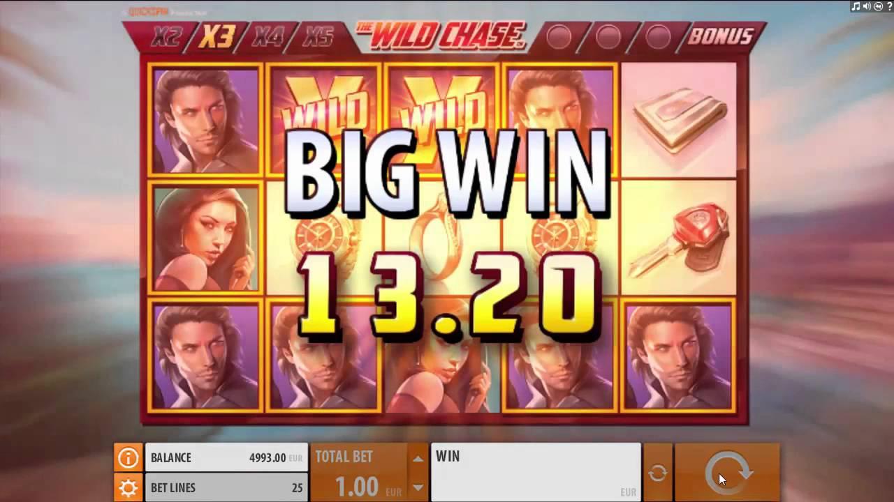 The Wild Chase Slot Big Win
