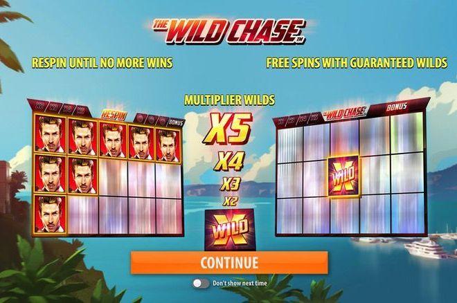 The Wild Chase Slot Bonus