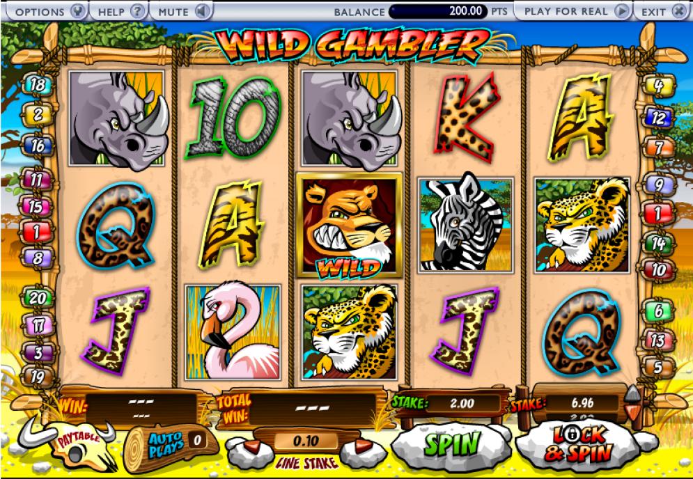 Wild Gambler Slot Gameplay