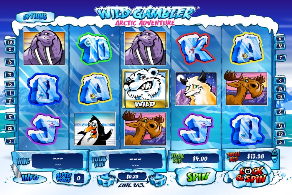 Wild Gambler Arctic Adventure Slot Gameplay