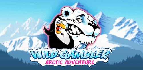 Wild Gambler Arctic Adventure Slot Logo Thor Slots